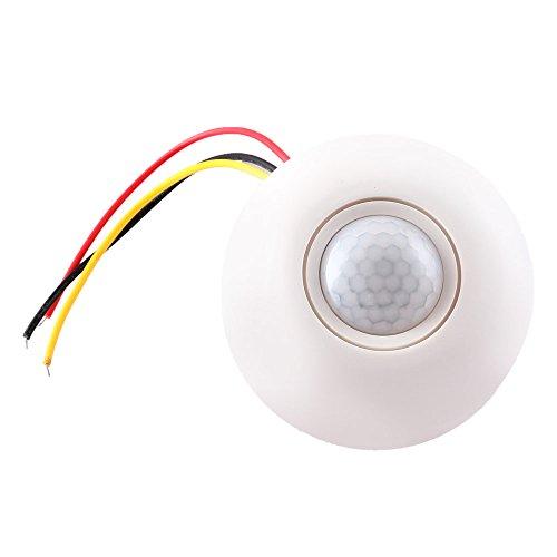 Deckenbefestigung Bewegungsmelder IR Infrarot Bewegungsmelder automatisches Ein/Aus Schalter