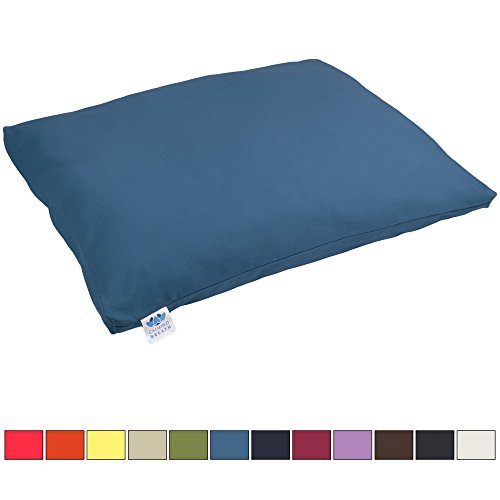 Tapis / oreiller de méditation zabuton CalmingBreath - coton- ultra épais - Superbes couleurs !