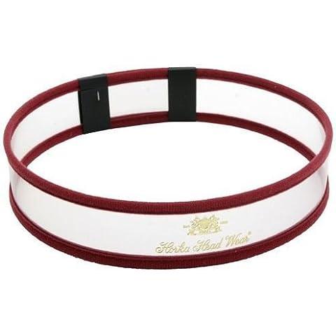 Horka lettere Headwear Accessori Equitazione lettere dell' alfabeto in Nero per 50pezzi, Borgogna