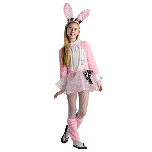 Dress up america costume da ragazza tween energizer coniglietto easter dress, medium (10-12 anni)
