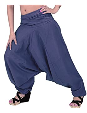 Skirts & Scarves -  Pantaloni da donna in cotone, per yoga, colore viola
