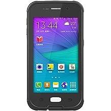 Yihya Nueva Versión Durable Sellado Completo Impermeable Case Cover funda para Apple iphone Samsung Galaxy S6 G9200 A Prueba de Golpes Snowproof Hermético al Polvo Submarino Estuche Carcasa con más Accesorios --- Negro