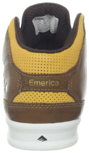 Emerica The Reynolds Lx, Chaussures de sport homme Marron (Brown/Tan/Brown 275)