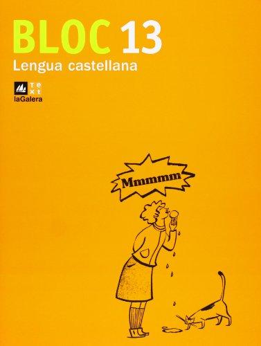 Bloc Lengua castellana 13 - 9788441218147