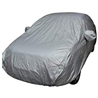 Nomia Full Car Cover Indoor Outdoor Sunscreen Heat Protection Dustproof Anti-UV Scratch-Resistant Sedan Universal Suit M, K1333M