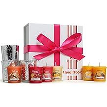 Set regalo di candele profumate, candele profumate perfette come regalo per ragazze, moglie, donne e per Natale Candele