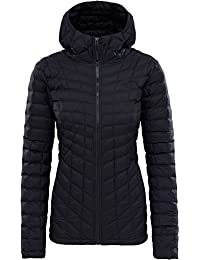 The North Face Thermoball Hoodie Chaqueta, Mujer, Tnf Black Matte, XXL