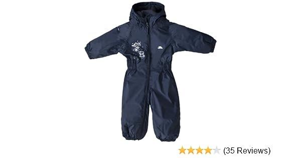 f78bd7e52cc1 Trespass Kids All In One Padded Rainsuit Dripdrop  Amazon.co.uk ...