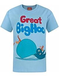 Twirlywoos - Camiseta de manga corta oficial de Twirlywoos modelo Great Big Hoo para niños