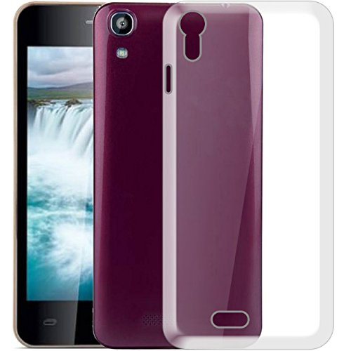 Hello Zone Exclusive Soft Transparent Crystal Clear Back Cover Back Case Cover For iBall Andi Enigma  available at amazon for Rs.169