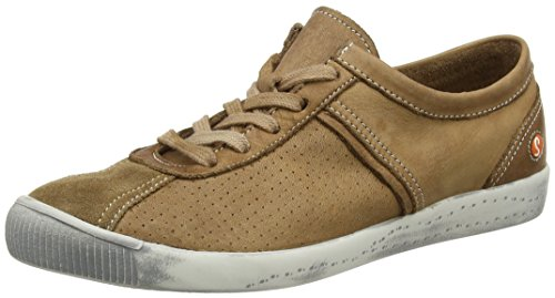 Softinos Women's Ibo355Sof Low-Top Sneakers, Brown (Brown), 5 UK 38 EU