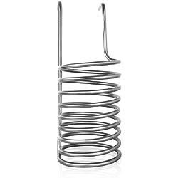 Bielmeier 040006 - Espiral enfriadora de acero inoxidable para sistema de fabricación de cerveza BHG 400