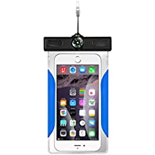 """Waterproof Phone Case-SMOI Universal Dry Waterproof Bag PVC Touch Screen for iPhone 7S/7/6/6S Plus/5/5s/5c Galaxy S7/S7 Edge/S6/S5/S4 Note 4/3 LG G5/G3 Up To 6"""""""