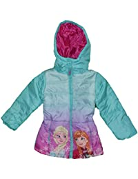 Disney Frozen Chaqueta De Invierno Acolchada Girls