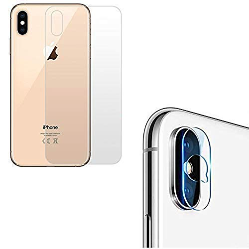 Young & Ming Protector Trasero iPhone XS MAX + Lente