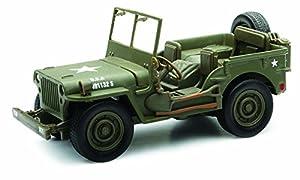 New Ray - Vehículo Militar de coleccionista, Color Verde