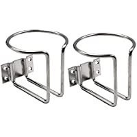 YiMusic Stainless Steel Recessed Boat Cup Drink Can Holder Suit for Marine Boat RV Camper Cup Protection Accessories