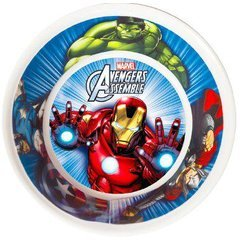 Ciao 33543 - Plato hondo Avengers Mighty, multicolor
