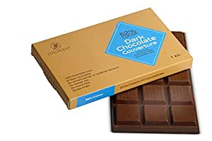 Cocoacraft 52% Dark Chocolate Couverture, 1 kg