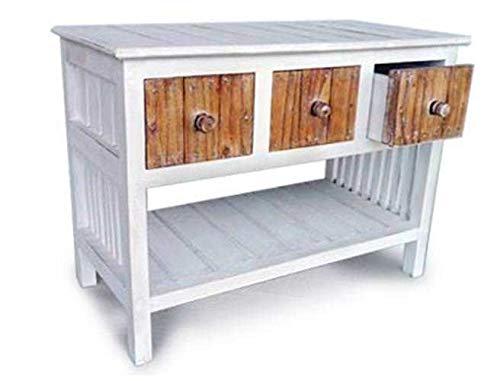 Generic Ole Table. tiroirs de Rangement étagère BLE Lampe pour TV Buffet Blanc Oard Vintage Café Console Support SID Table TV Tage Café Pied de Lampe Ffee Conso