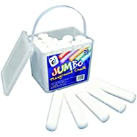 Jumbo – Cubo de tiza – 20 varillas de tiza blanca