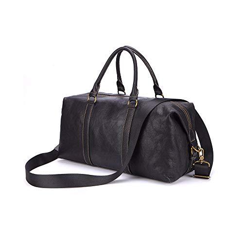 GAOPENG Business-Tasche aus Leder Große Schulter eine Schulter/Diagonale/tragbar/DREI Möglichkeiten, geeignet für Geschäfts- / Freizeit- / Outdoorreisen