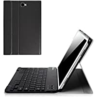 Fintie Samsung Galaxy Tab A 10.1 Keyboard Case - SlimShell Light Weight Stand Cover with Magnetically Detachable Wireless Bluetooth Keyboard for Tab A 10.1 inch SM-T580N / T585N, Black