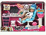 Bratz Toy - Sleepover Spa and Hair Studio Doll Playset with Real Working Sink and Spray