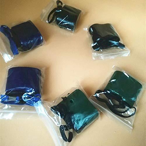 Yaoaomon Mini-Handkurbel-USB-Radio-Taschenlampe-Telefon-Ladegerät-Stromgenerator-Ladegerät-Grün