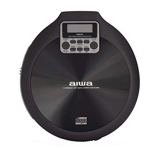Oferta de Reproductor de CD AIWA PCD-810BK Color Gris y Negro
