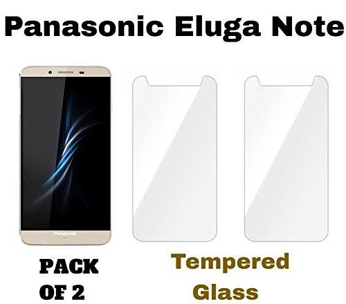 M.G.R.J - Panasonic Eluga Note (Pack of 2) Tempered Glass...