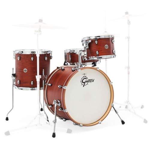 Gretsch Schlagzeug-Set, CT1J484SWG, 2014,Catalina Club, Jazz, 4-teiliges Trommel-Set, Satin-Wallnussglasur (Gretsch Drum Set)
