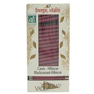 Valdena Infusion Bio N°8 Cassis Hibiscus 20 sachets
