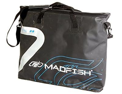 Madfish Dry Bag. Large. Fully sealed Carry bag. Fits 4 Keepnets plus landing nets, 78L, 65cm x 20cm x 57cm by Madfish