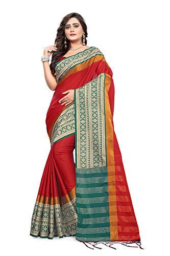 d01593718cc00d Indian Beauty Yellow Cotton Silk Plain Saree With Blouse Source · KayDee  silk saree for women turmeric golden yellow saree with
