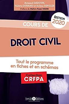 Cours de droit civil (French Edition) van [Dadoun, Armand, Durand, Valérie, Ringler, Solenne]