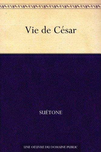 Couverture du livre Vie de César