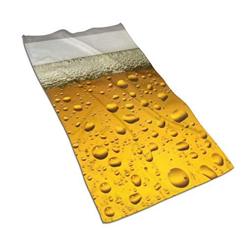 Tyueu Handtuch Gesicht Handtücher Beer Wallpaper Hand Towel and Washcloth, Towels Premium Extra Soft Bath-27.5 X 17.5 in -