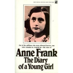 Book cover for The Diary of a Young Girl
