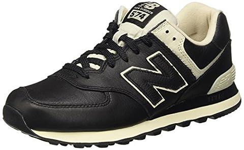 New Balance 574, Chaussures de Running Entrainement Homme, Noir (Black),