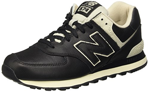 New Balance Men's 574 Trainers, Black (Black), 11 UK 45 1/2 EU