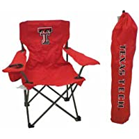NCAA Texas Tech Red Raiders Youth plegable silla con estuche