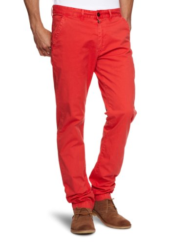 Pepe Jeans London Herren Jeans Blyth, gerade Washed Red