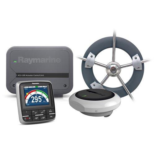 Raymarine T70152 Autopilot EV-100 Rad:Evolution Radpilot mit p70, ACU-100 und Radantriebseinheit schwarz (Autopilot Raymarine)