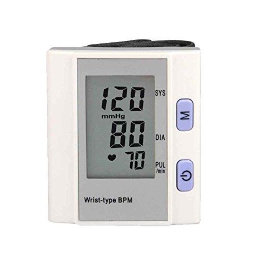 ndgelenk-Blutdruck-Monitor-Herz-Schlag Rate Meter Automatische Arm Handgelenk Pulse Tester ()