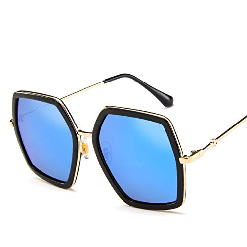 Sonnenbrillen NEW High Quality Square Sunglasses Women Brand Designer Vintage Retro Big Frame Sunglasses Female Sun Glasses For Women Shades Blue