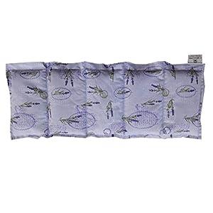 Körnerkissen Wärmekissen Dinkelkissen mit Lavendel Motiv Lavendel