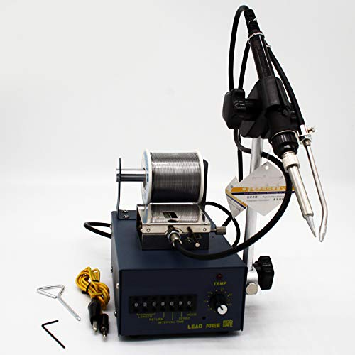 WANG Automatische Lötdraht Feeder Pedal Lötstation Lötmaschine Schweiß Feeder Electronic Product Schweißen 220V -