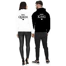 561809a1455ef9 Cold & Heartless King & Queen Pullover 2er Pärchen Set