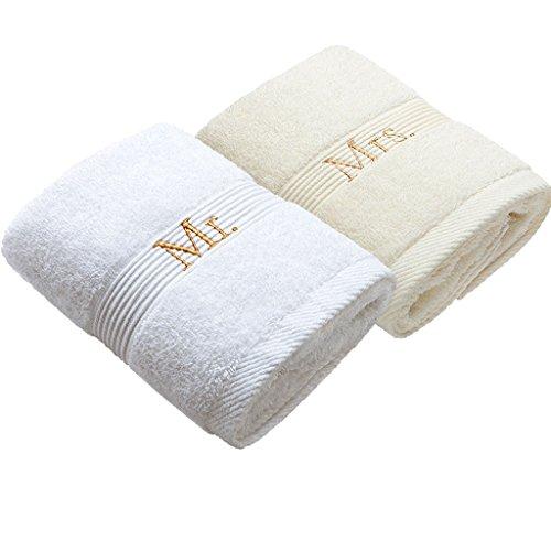 Unbekannt CHENGYI Paare Handtuch Reine Baumwolle Kreative Persönlichkeit Weichen, Saugfähigen Erwachsenen Dicker Waschlappen Sport Handtücher 75 cm * 40 cm (2 Teile/sätze) (Color : C) - Kapuzen-badetuch/2 Waschlappen